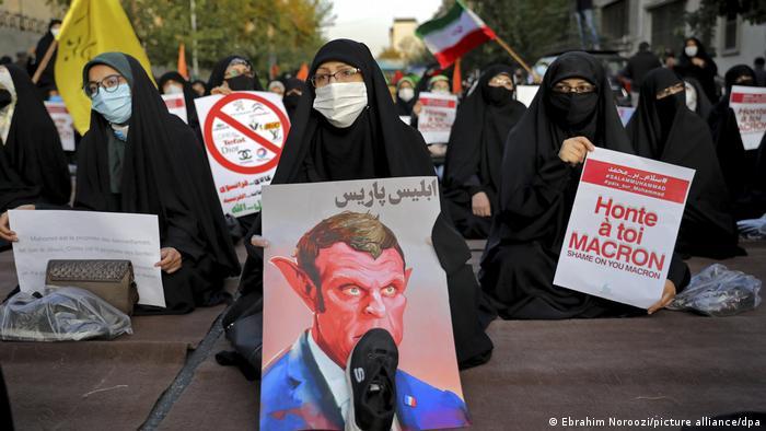 Manifestaciones en Teherán.