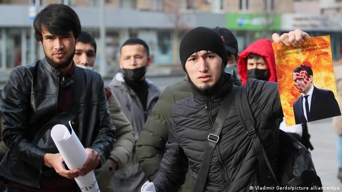 Protestas en Moscú.