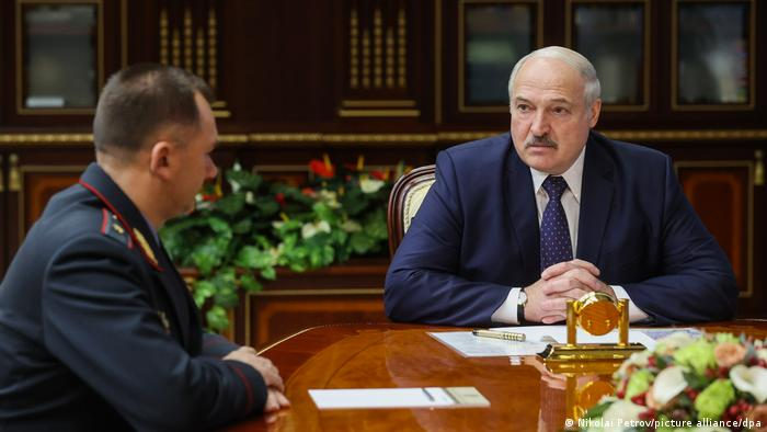 Lukashenko talks to new Interior Minister Kubrakov