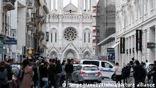 Frankreich Nizza | Messerattacke | Ermittlungen (Serge Haouzi/Xinhua/picture alliance)