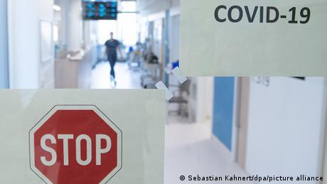 An intensive care station in Germany (Sebastian Kahnert/dpa/picture alliance)