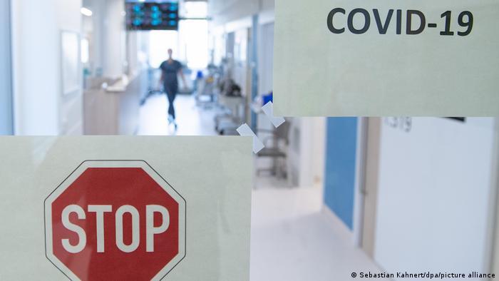 Deutschland | Coronavirus | Intensivstationen (Sebastian Kahnert/dpa/picture alliance)
