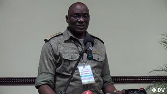 Generalkommandant der Polizei der Republik Mosambik Bernardino Rafael