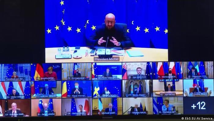 Szczyt UE w dobie pandemii