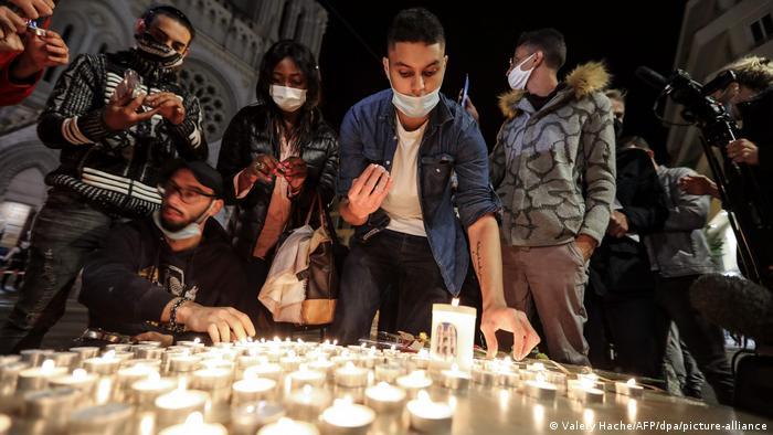 Frankreich Messerattacke in Nizza Trauer