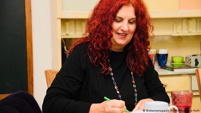 Mechthild Schroeter-Rupieper îi consiliază pe oamenii care trec prin momente grele