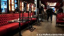 Deutschland | Coronavirus: Geschlossenes Lokal in Frankfurt