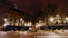 Frankreich Paris | Leer Straßen in der Nacht vor neuen Corona Einschränkungen