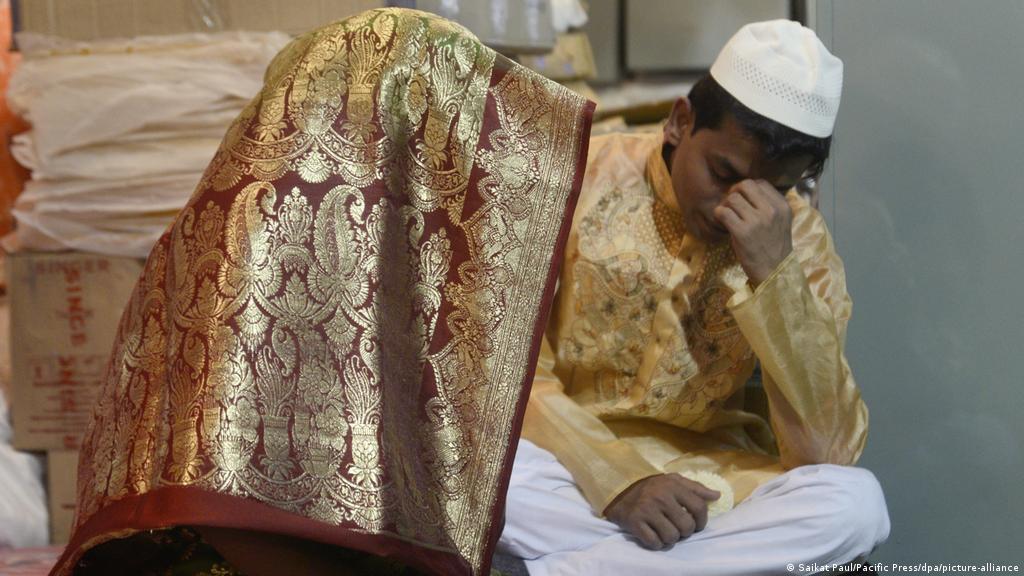 Russian muslim marriage