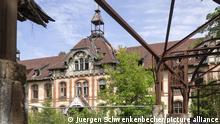 Beelitz-Heilstaetten: Frauenpavillon mit morbidem Charme