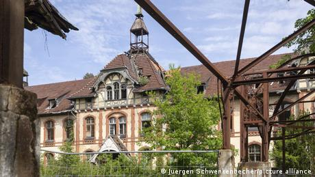 The abandoned Beelitz-Heilstaetten lung sanatorium