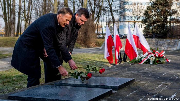 Pressebilder Borusia Dortmund   Antisemitismus   Besuch in Auschwitz