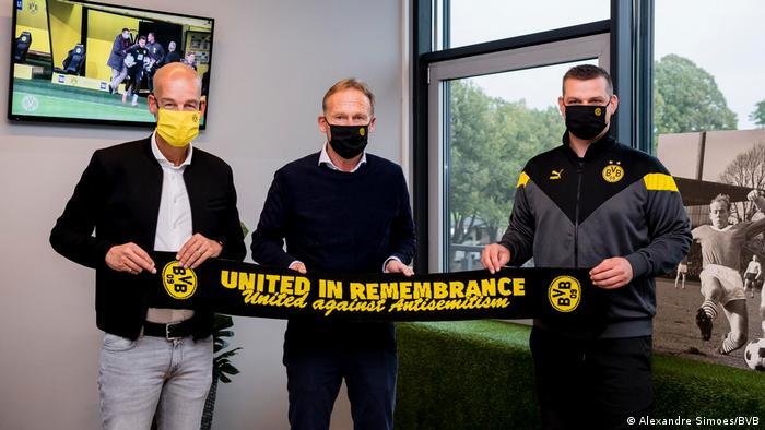 Pressebilder Borusia Dortmund   Antisemitismus