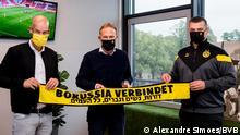 Pressebilder Borusia Dortmund | Antisemitismus (Alexandre Simoes/BVB)