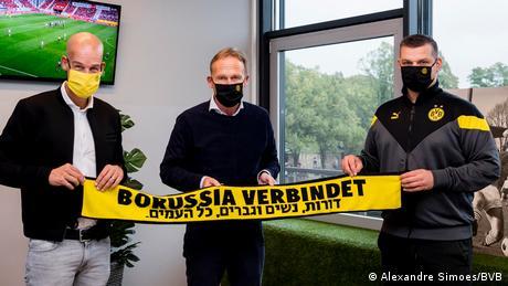 Pressebilder Borusia Dortmund   Antisemitismus (Alexandre Simoes/BVB)