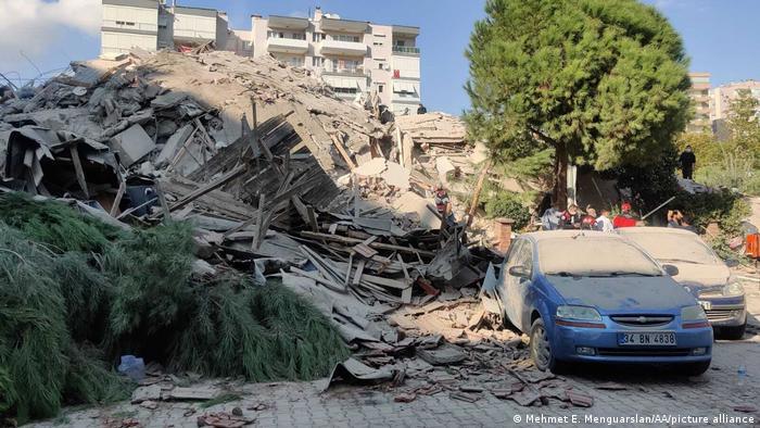 Terremoto en Izmir, Turquía. (30.10.2020).
