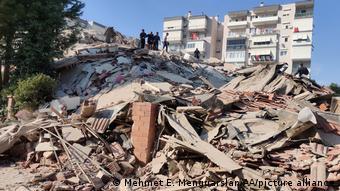 Наслідки землетрусу у Турчеччині