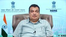 Indien | Politiker Nitin Jairam Gadkari