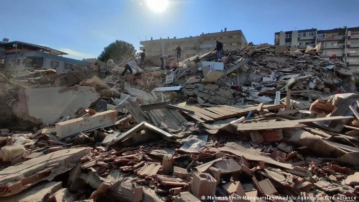 Türkei Izmir Erdbeben