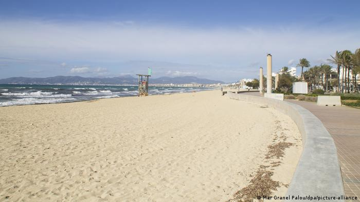Spanien Corona-Pandemie | Tourismus Mallorca