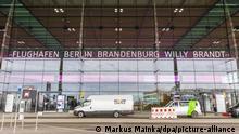 واجهة مطار برلين براندنبورغ الجديد