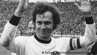 Franz Beckenbauer champion du Mondial 1974