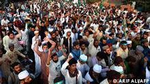 Pakistan | Religion | Protest gegen Präsident Macron