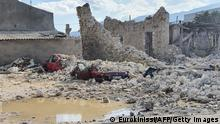 Griechenland Samos   Erdbeben und Mini-Tsunami