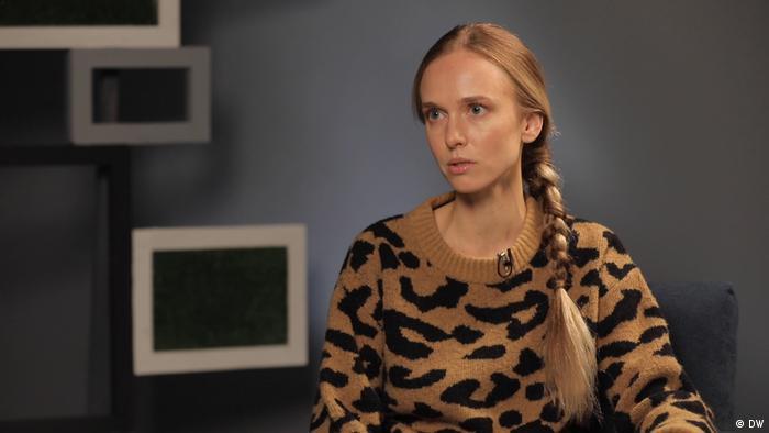 Александра Дикан - жена задержанного в Беларуси менеджера минского офисаIT-компании PandaDoc Виктора Кувшинова