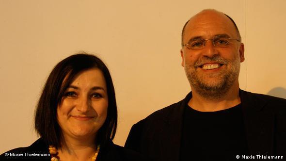 Uwe von Seltmann z żoną Gabi