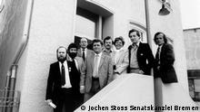Mitglieder der Solidarnosc-Delegation in Bremen