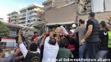 زلزال في إزمير