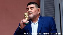 Diego Maradona | im Präsidentenpalast