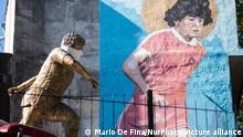 Diego Maradona | Statue in Buenos Aires