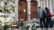 Frankreich Nizza | nach der Messerattacke (Marina Strauß/DW)