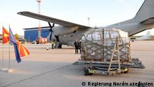 Nordmazedonien Flughafen Skopje | NATO-Hilfe in Corona-Krise