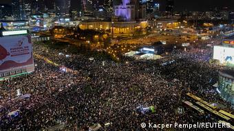 Polen Proteste gegen Abtreibungsverbot