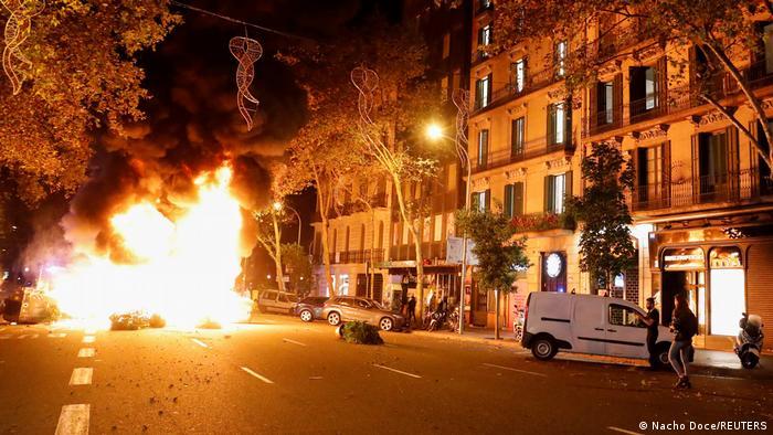 Протести у Барселоні