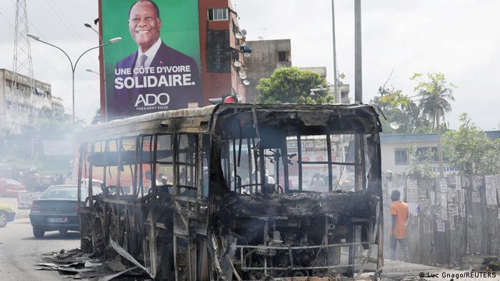 Elfenbeinküste | Präsidentenwahl | Zusammenstöße zwischen Demonstranten und Polizei