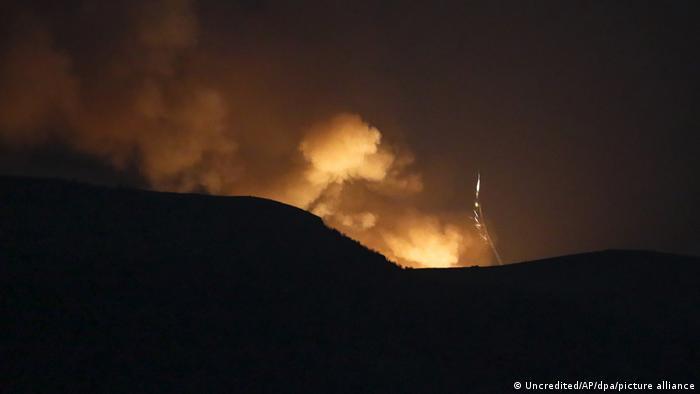 Konflikt in Berg-Karabach (Uncredited/AP/dpa/picture alliance)