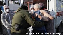 Russland Explosion im Krankenhaus in Tscheljabinsk