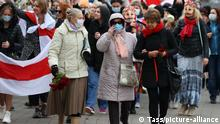 Belarus Minsk | Protest von Frauen - Women's march