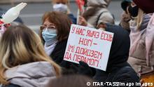 Belarus Minsk |Protest von Frauen - Women's march