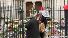 Frankreich Nizza |Trauer nach Anschlag |Basilika Notre-Dame