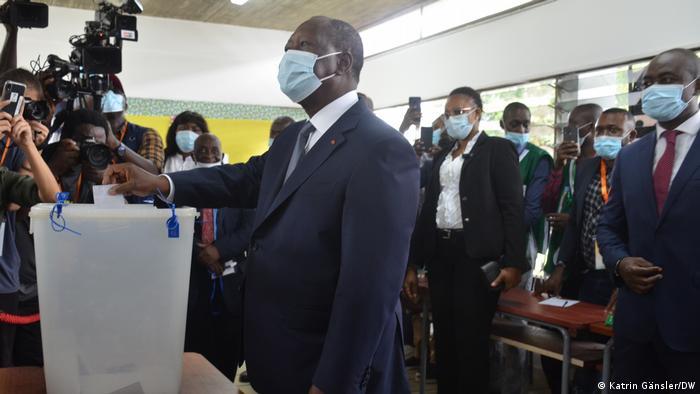 Elfenbeinküste Abidjan |Wahl 2020 |Alassane Ouattara