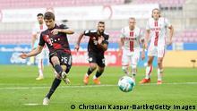 Bundesliga 1. FC Köln v FC Bayern München | Tor Müller