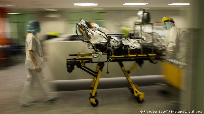 Belgien Corona-Pandemie | CHR Citadelle Krankenhaus