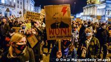 Polen | Proteste gegen Abtreibungsverbot (Omar Marques/Getty Images)