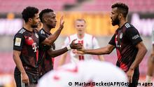 Bundesliga 1. FC Köln v FC Bayern München | Jubel Gnabry