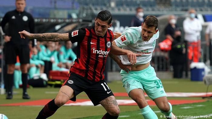 Fußball Bundesliga Eintracht Frankfurt - Werder Bremen